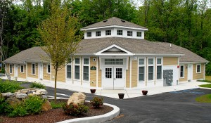 The Gary Kleiber Building at Freedom Gardens, a residential complex for mobility-impaired adults in Mohegan Lake.