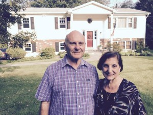"Anna Maroselli, with husband Bob, says ""train hard, fight easy"" in preparing for sale of home."